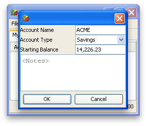 Image of Account Options (Windows)
