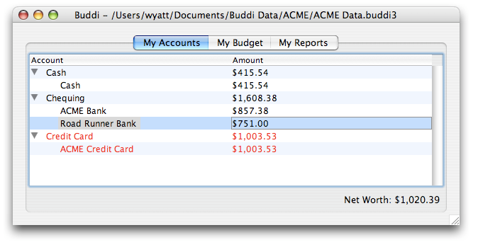 Image of Accounts (OS X)