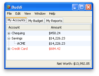 Image of Accounts (Windows)