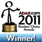 About.com 2011 Reader's Choice Awards Winner
